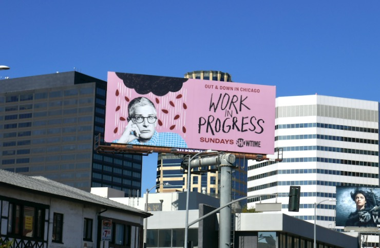Work in Progress TV series billboard