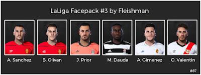 PES 2021 LaLiga Facepack #3 by Fleishman