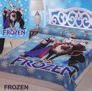 Selimut Sutra Panel Belladona Frozen