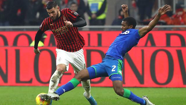 ساسولو يحقق فوزا ثمينا على مضيفه ميلانو