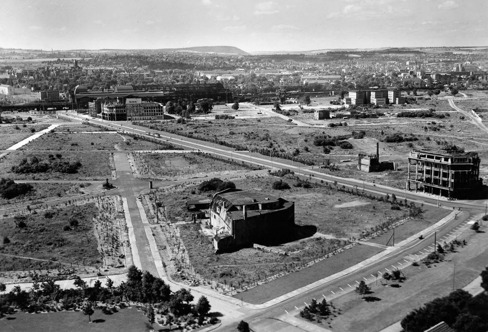 Dresden in 1956.