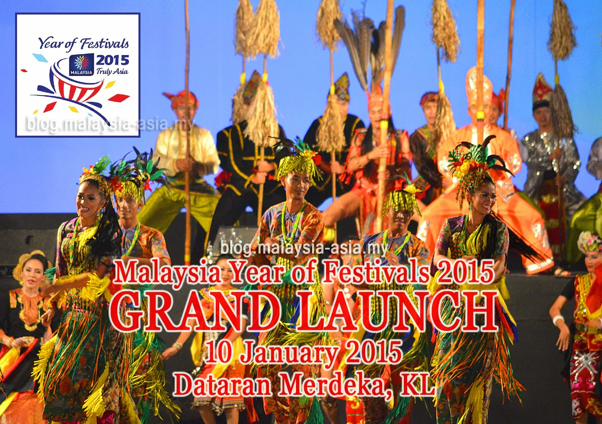 Malaysia Year of Festivals 2015 Grand Launch