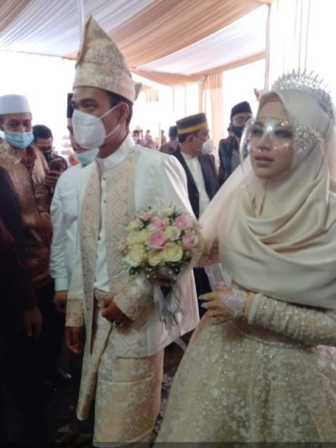 Saat Ustaz Abdul Somad-Fatimah Az Zahra Melangkah Pasti Menuju Pelaminan