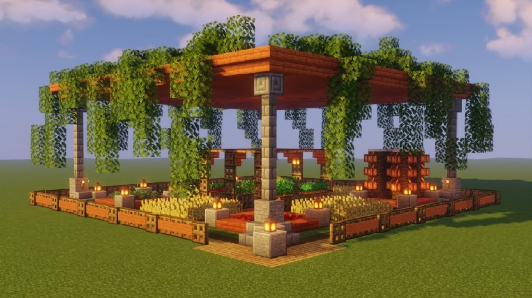 jardinero virtual en Minecraft