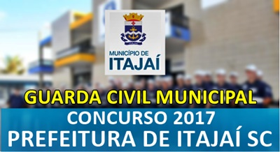 Apostila Prefeitura de Itajaí 2017