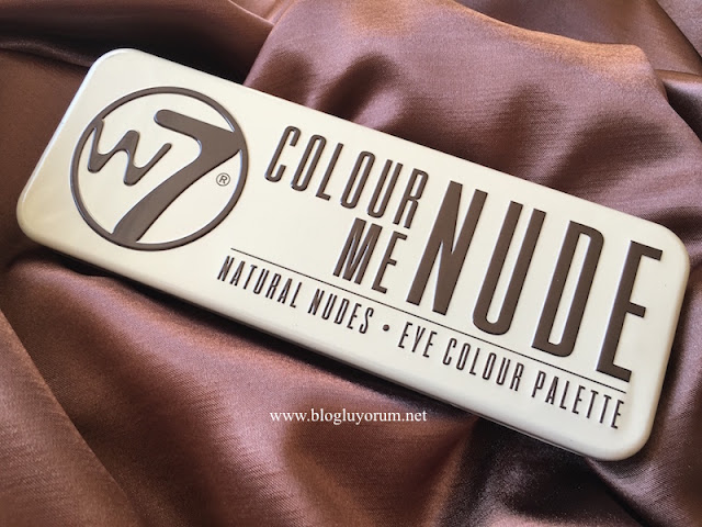 w7 in the nude colour me nude far paleti
