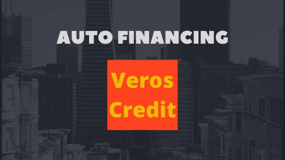 Veros credit auto financing details