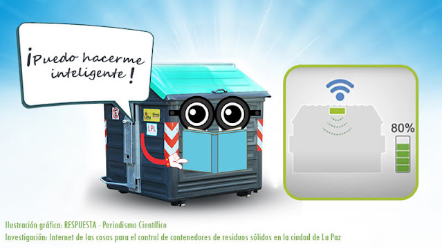 Propuesta para la implementación de basureros inteligentes en La Paz, Bolivia