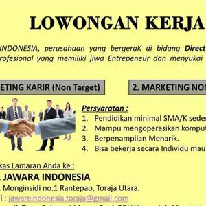 Lowongan Kerja CV Jawara Indonesia