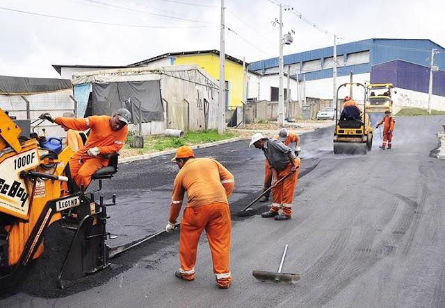 Prefeitura investe cinco milhões em asfalto no Monte Castelo e Vila Maria do Rosário