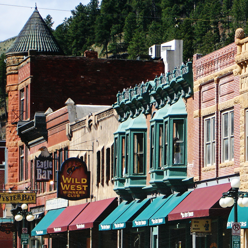 deadwood south dakota main street