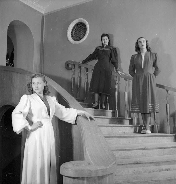1955 год. Рижский дом моделей (фото: Евгений Халдей)