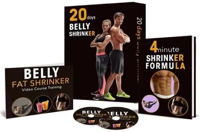 Belly Fat Shrinker program reviews, PDF BOOK & Video Course DOWNLOAD, The Easy 20 Day Belly Fat Shrinker review