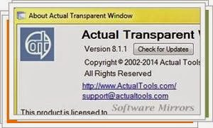 Actual Transparent Window 8.1.2 Download