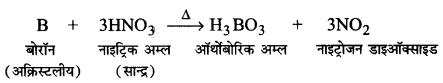 Solutions Class 11 रसायन विज्ञान Chapter-11 (p-ब्लॉक के तत्त्व)