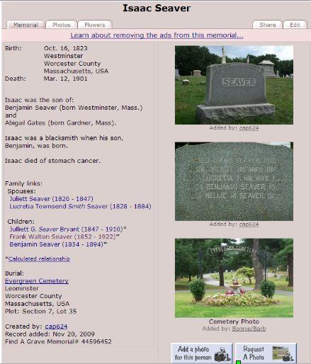 Genea-Musings: Dear Randy: Is Find A Grave a Reliable Source?