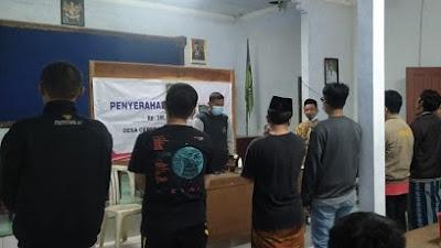 Pengukuhan Pengurus Karang Taruna Setiyo Konco Desa Cepedak Periode 2021/2026