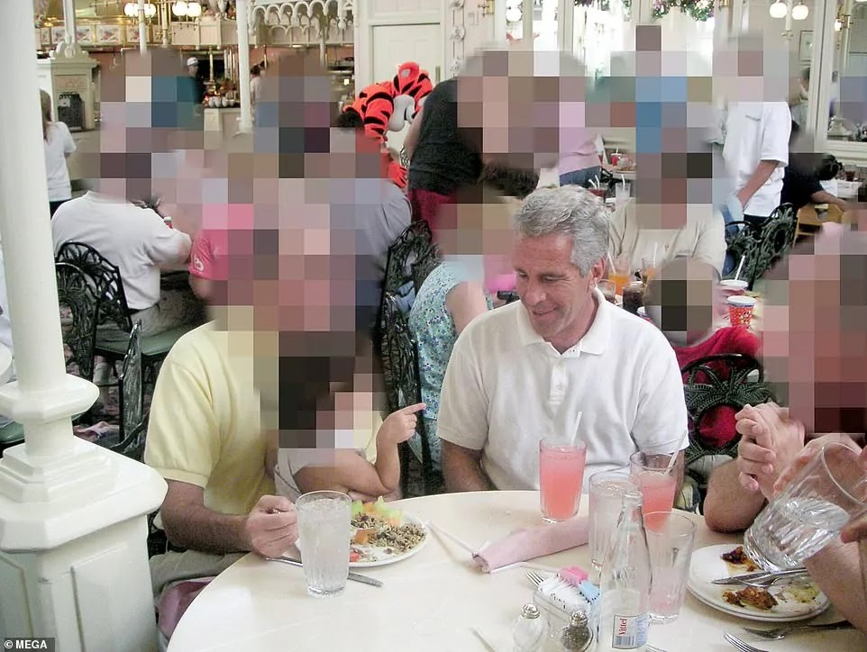 Newspaper Reveals Shocking Images Of Epstein With Young Girl After VIP Trip To Disney World