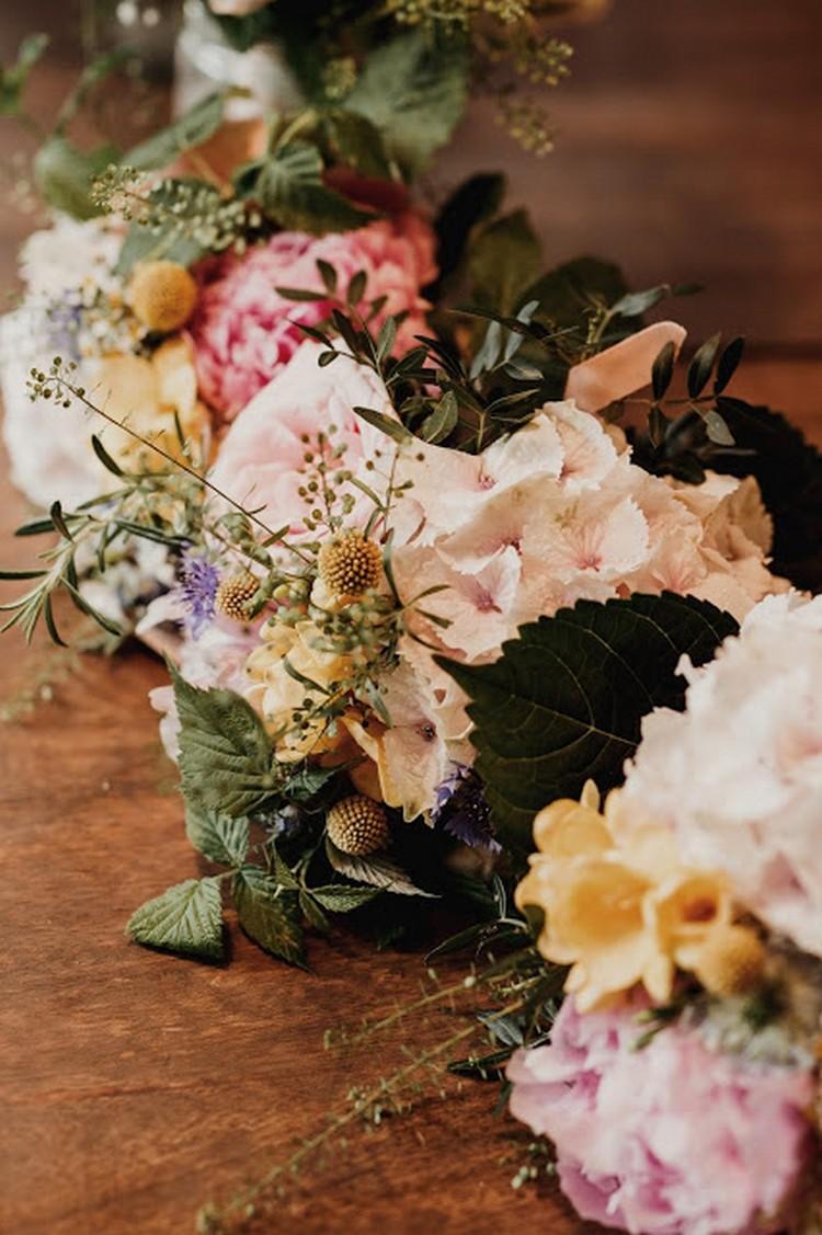 bouquet de mariée, fleurs mariage Lyon, Marie Laporte, Château de Janzé