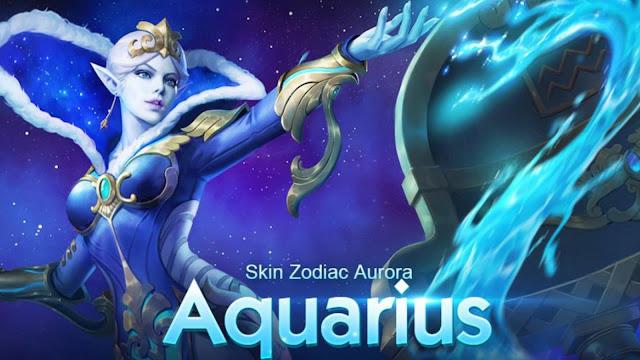 Skin aurora zodiac sign