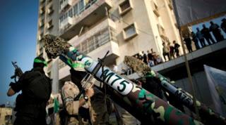 Hamas recuperou seu arsenal
