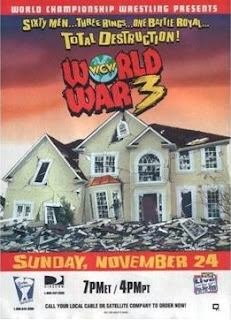 WCW WORLD WAR 3 1996 - PPV Review - Event poster