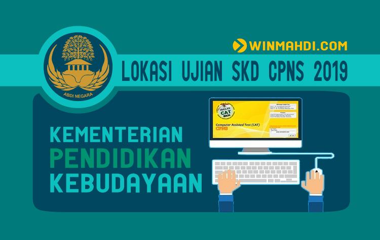 Lokasi Ujian SKD CPNS Kemendikbud 2019