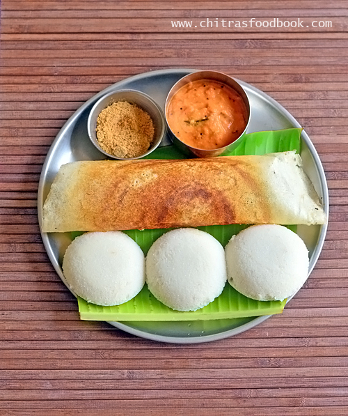 how to make idli using ration rice