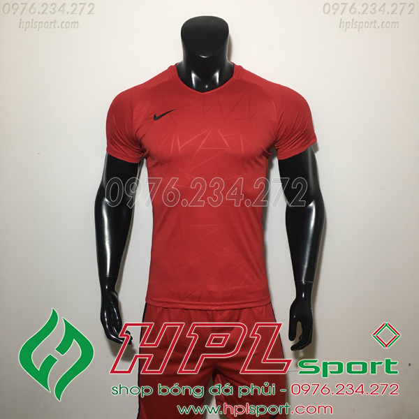 Áo Ko Logo Nike TB Đỏ