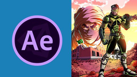Adobe After Effects : Learn Comic Book Animation [Free Online Course] - TechCracked