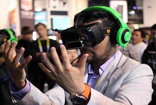 Realitatea virtuală permite intrarea într-un univers virtual.