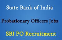 sbi po recruitment 2016 online application sbi.co.in