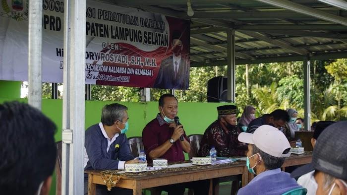 Hendry Rosyadi Akan Bantu Pemekaran Dusun Kubu Panglima