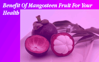 Benefit Of Mangosteen Fruit For Your Health