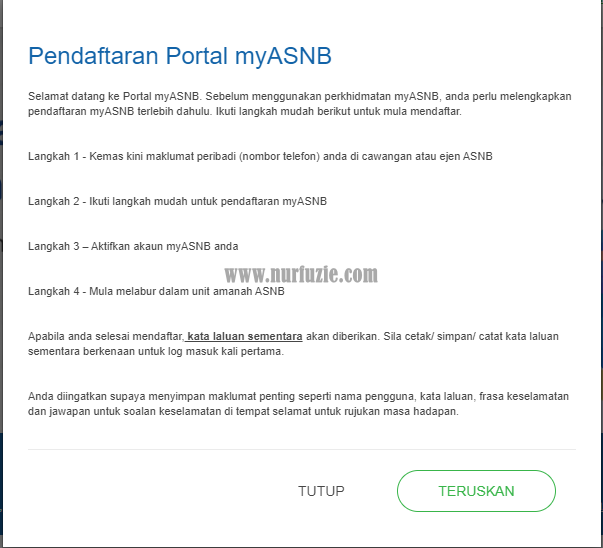Pendaftaran MyASB