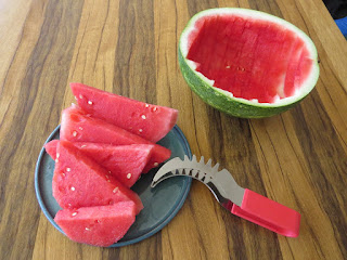 Perfect Watermelon Slicer\Server, Premium Design, High Quality Hypoallergenic (No Nickel) Stainless Steel , Dishwasher Safe, Perfect Kitchen Gadget by Sweet Slice