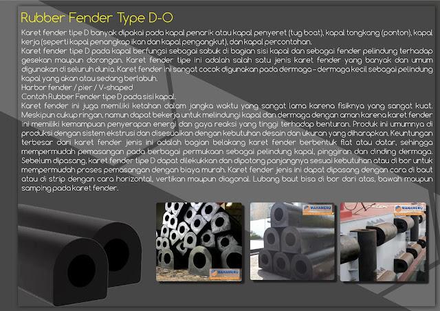 Rubber Fender Tipe D 300