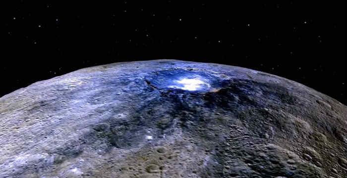 Το «μυστήριο» των φωτεινών σημείων στον πλανήτη Δήμητρα