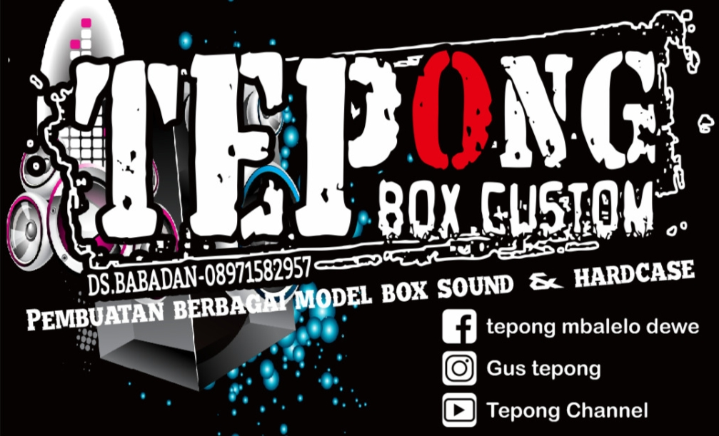 Tepong Audio Box Custom Hardcase Rembang