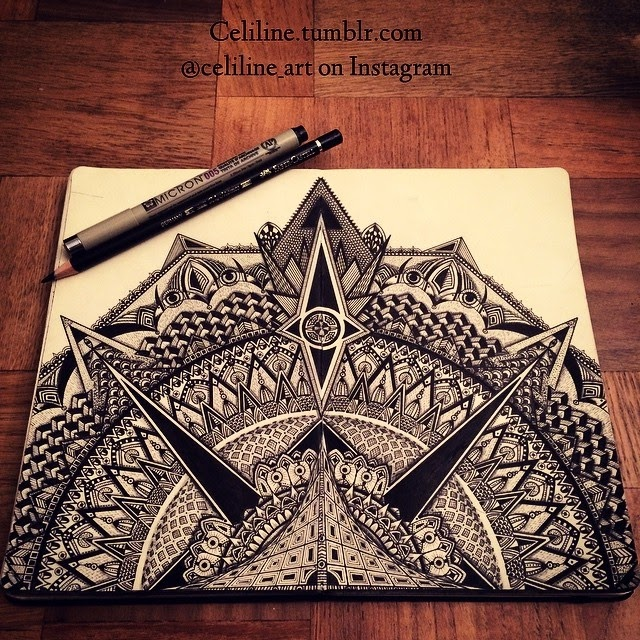 05-Celine-Silence-Lines-Art-Mandalas-Zentangles-and-Stippling-Drawings-www-designstack-co