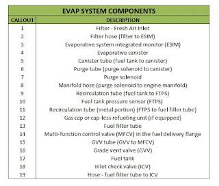 P0456 Evap System Small leak