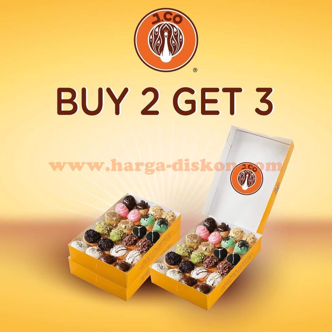 Promo Jco Terbaru Buy 2 Get 3 Jpops Hanya Rp98 000 Periode 29 Mei