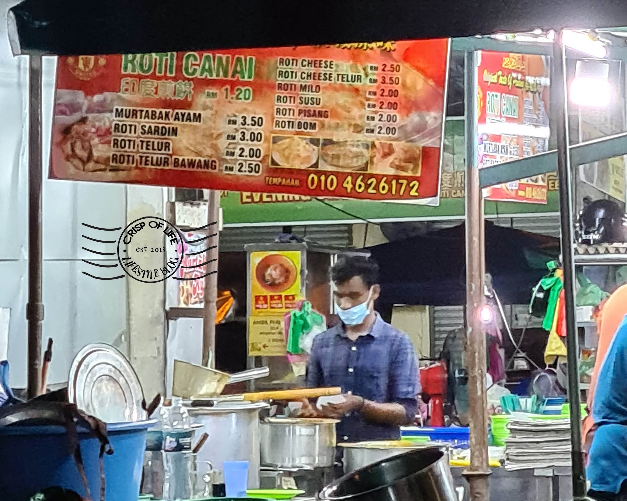 Underrated Breakfast Roti Canai @ Jalan Perak Morning Market