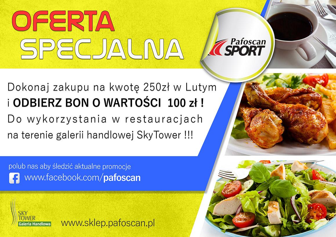 Pafoscan Sport Sky Tower Wrocław