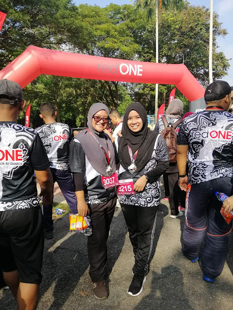 Red One fun run
