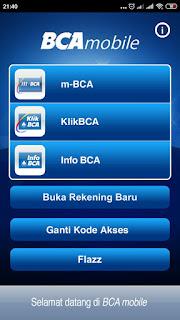 Tutorial tarik tunai kartu kredit BCA