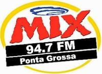 Rádio Mix FM de Ponta Grossa Pr ao vivo