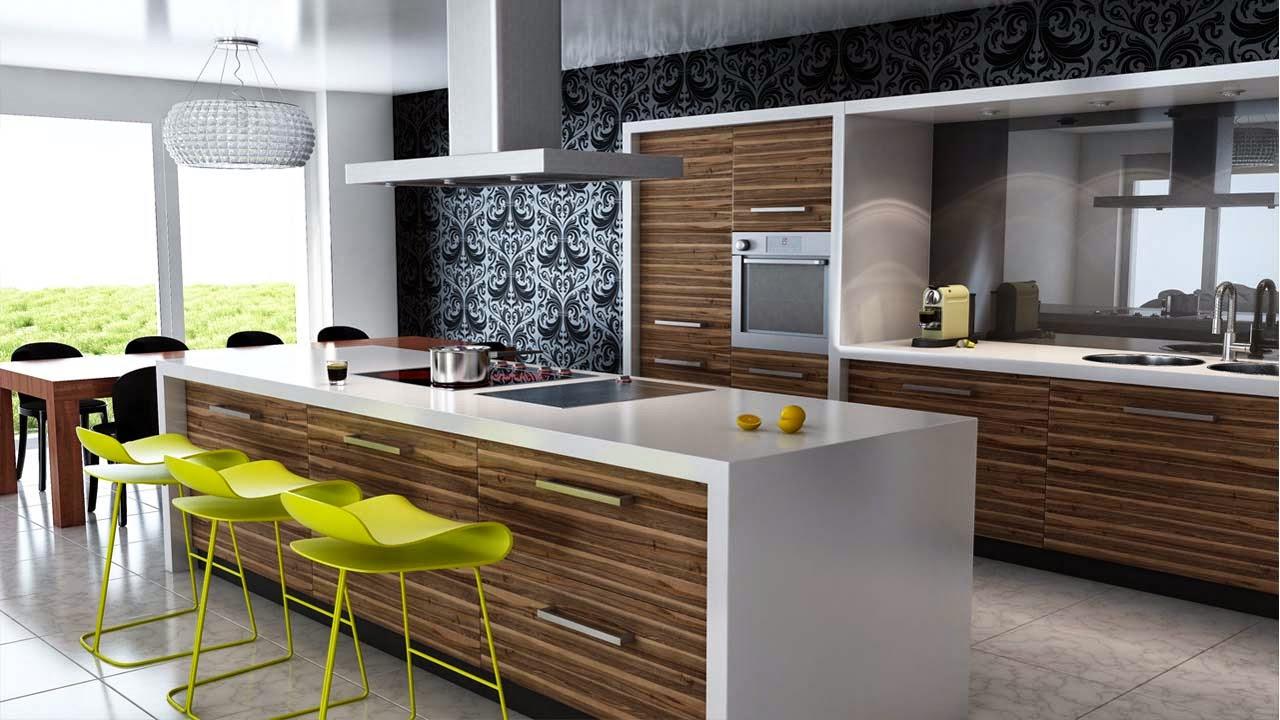 dekorasi bajet dapur