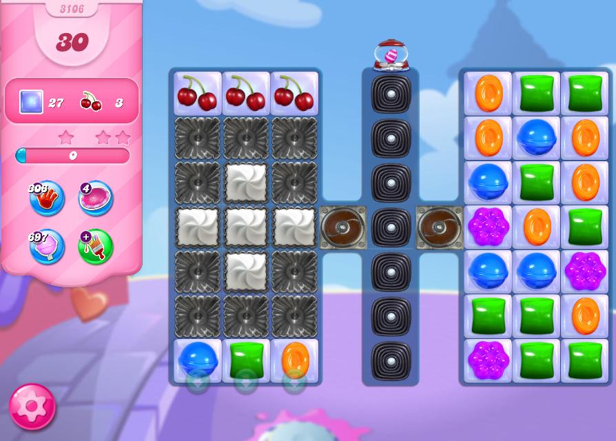 Candy Crush Saga level 3106