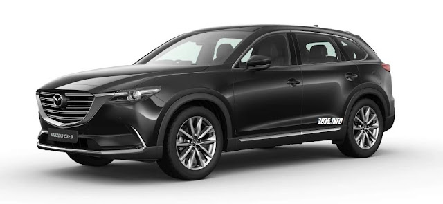 All New Mazda CX9 Hitam